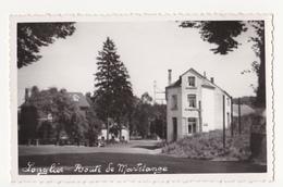 Longlier: Route De Martelange.(carte-photo) - Neufchateau