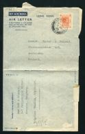 HONG KONG KOWLOON KING GEORGE 6TH 1949 AIRLETTER - Unclassified