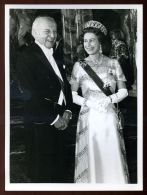 HM QUEEN ELIZABETH PRESIDENT OF GERMANY 1978 - Famous People