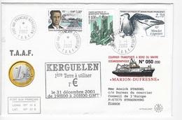 Kerguelen Marion Dufresne 2002 - Lettres & Documents