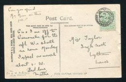 GB SCOTLAND GOLF ST ANDREWS RAILWAYS FIFE EDWARD 7TH 1908 - 1902-1951 (Kings)