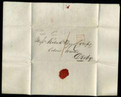 IRELAND, DUBLIN 1840 ENTIRE LETTER TO DERBY - Ireland