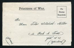 GB WORLD WAR ONE STATIONERY PROPAGANDA BALLOON AIR GERMAN P.O.W. 1918 - Old Paper