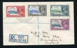 JAMAICA SILVER JUBILEE GEORGE FIFTH REGISTERED - Jamaica (...-1961)