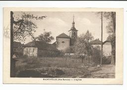 SAINT FELIX (Haute Savoie) L'Eglise - France
