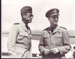ORIGINAL PHOTO DUKE OFWINDSOR NASSAU BAHAMAS RAF 1943 SOUTH ATLANTIC WING - Famous People