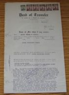 1947 SOUTHERN RHODESIA REVENUE DOCUMENT KG6 - Grande-Bretagne (ex-colonies & Protectorats)