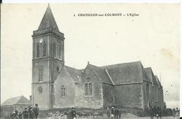 Chatillon Sur Colmont,L'Eglise 1912 - Mayenne