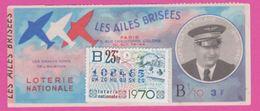 Loterie Nationale 1969 - 31 ème Tranche 1/10 - Normandie Niemen - GASTON - Lottery Tickets