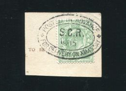 GREAT BRITAIN CHRISTMAS CHESHIRE 1905 EDWARD 7th POSTED IN ADVANCE SALE - 1902-1951 (Kings)