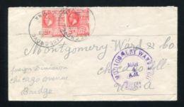 BRITISH GUIANA KING GEORGE 5TH SUGAR CANE GROVE POSTMARK - British Guiana (...-1966)