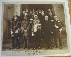 PHOTO SIGNED SIR AUCKLAND GEDDES AMBASSADOR BRITISH EMBASSY WASHINGTON - Other Collections