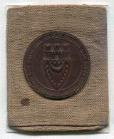 RARE KAISER WILHELM II PRESENT CIGAR CHEROOT CASE KIEL 1904 VICTORIA & ALBERT - Contenitore Di Sigari