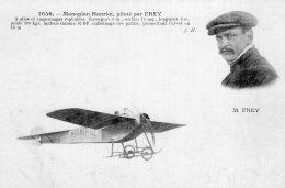 V9185 Cpa Aviation -  Monoplan Hanriot Piloté Par Frey - Sin Clasificación