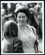PRINCESS MARGARET PHOTO AT BADMINTON HORSE TRIALS 1976 - Other Collections