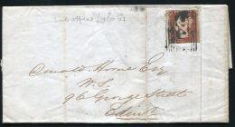 SCOTLAND LYBSTER 1845 VICTORIA ENTIRE LETTER - 1840-1901 (Victoria)