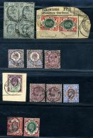 GB KEV11 1911-1913 SOMERSET HOUSE USED SELECTION - 1902-1951 (Kings)