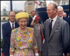 HM QUEEN ELIZABETH FLORIDA ROYAL YACHT 1991 - Other Collections