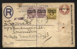 BRITISH BECHUANALAND 1906 REGISTERED COVER - Bechuanaland (...-1966)