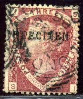 GB LINE ENGRAVED QV 1870 1½d SPECIMEN - 1840-1901 (Victoria)
