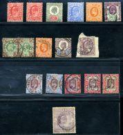 GB KEV11 1902-1910 DE LA RUE SELECTION - 1902-1951 (Kings)