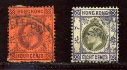HONG KONG KE7 GERMAN SEA POST - Hong Kong (...-1997)