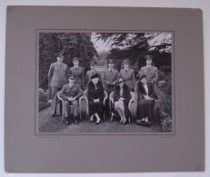 LARGE ORIGINAL PHOTO OF QUEEN MARY WITH RAF CIRENCESTER BY W. DENNIS MOSS - Photographs