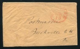 FORWARDING AGENTS / USA TRANSATLANTIC MAIL 1848 REPRISAL RATES GB / USA - Postal History