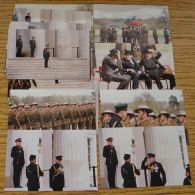ORIGINAL 32 KODAK PHOTOS NEGATIVES PRINCE CHARLES REVIEWING GHURKHAS NEPAL - Beroemde Personen