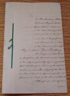 LEEWARD ISLES BRITISH GUIANA 1889 CONGRATULATORY ADDRESS GEORGETOWN HAYNES - Old Paper