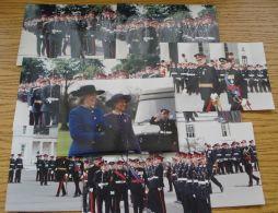 NINE ORIGINAL COLOUR PHOTOS PRINCE MICHAEL OF KENT & KING CARL XVI OF SWEDEN - Photographs