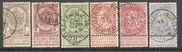 003901 Belgium 1893 Selection FU - 1893-1900 Thin Beard