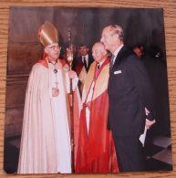 ORIGINAL COLOUR PRESS PHOTO PRINCE PHILIP DUKE OF EDINBURGH ST PAUL'S 1989 - Photographs