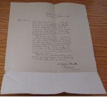 1ST ANTIGUA 1895 RESOLUTION OF APPRECIATION HAYNES SMITH BAHAMAS GOVERNOR - Old Paper