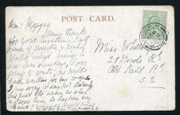 GREAT BRITAIN TELEGRAPH MESSENGERS CHRISTIAN BOY CHRISTMAS 1904 - Postmark Collection