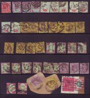 GB KING EDWARD 7TH PERFINS TO 5 SHILLINGS - 1902-1951 (Kings)