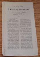 BAHAMAS 1888 THREE SPEECHES GIVEN BY SIR WF HAYNES SMITH GOVERNOR FRUIT TRADE - Old Paper
