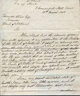 GREAT BRITAIN EDINBURGH GALLAWAY POSTAL REFORM 1848 - Marcofilia