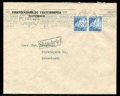 ICELAND PAQUEBOT MARITIME REYKJAVIK 1937 - Iceland