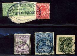GB SHIPPING/NEWFOUNDLAND/COLOMBIA/COSTA RICA - Great Britain