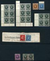 GREAT BRITAIN KGV 1934-36 SELECTION - 1902-1951 (Kings)