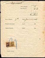 JAMAICA JUDICIAL STAMPS ST CATHERINE 1903/1909 - Jamaica (...-1961)