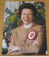 FINE ORIGINAL PRESS PHOTO A SMILING PRINCESS ANNE & SAVE THE CHILDREN FUND - Otras Colecciones
