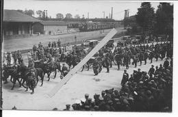 Douai Immelmann Cortège Transportant Le Corps De L'aviateur Jasta As De La Chasse Allemande 1 Carte Photo 1914-1918 Ww1 - Oorlog, Militair