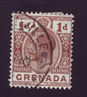 GRENADA KING GEORGE VILLAGE POSTMARK GREENVILLE - Grenada (...-1974)