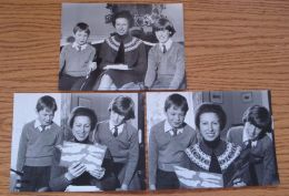 ORIGINAL PRESS PHOTOS PRINCESS ANNE AT GATCOMBE PARK LITTLE CHALFONT 1984 - Other Collections