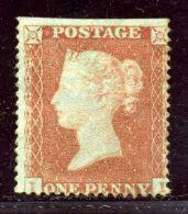 GB LINE ENGRAVED 1854 1d - Unused Stamps