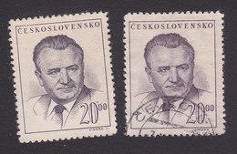 Czechoslovakia, Scott #366, Mint No Gum/Used, Gottwald, Issued, 1948 - Czechoslovakia