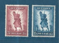Belgique Timbres De 1932   N°351/52   Neufs Trés Légère Trace De Charnière Cote 160€ - Belgien