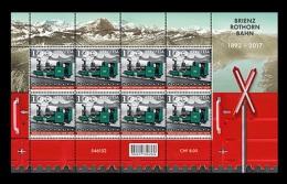 Switzerland 2017 Mih. 2492 Brienz Rothorn Railway (M/S) MNH ** - Schweiz